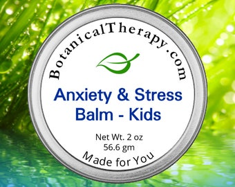 Anxiety and Stress Balm - For Kids