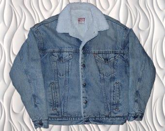70's LEVI'S - Medium - Sherpa Jacket