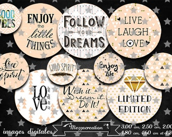 digital images * text * quote word arrow love dream life nude vintage collage digital scrapbooking cabochon jewel