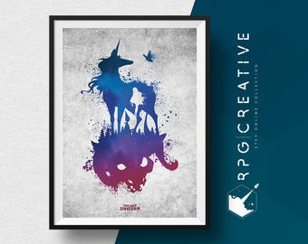 The Last Unicorn : Animated Icons Print