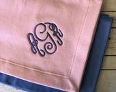 Custom Stadium fleece blanket - Monogrammed blanket - fleece blanket - stadium blanket - monogram blanket - personalized blanket