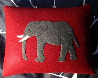 Elephant pillow,Decorative pillow,Small pillow, Home decor, Couch pillow