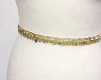 Waist beads, 6 X Waist beads , Jewelry making