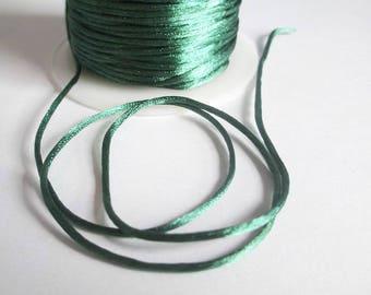 10 m green rat tail 1 mm