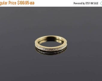 Big SALE 0.50 Ctw Diamond Baguette Channel Wedding Band Ring Size 7 Gold