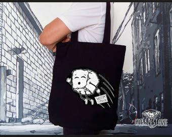 "Tote bag ""refugees"" fair trade & organic"