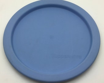 Tupperware One Touch Push Lid Seal  Replacement Lid Cover  # 2423 A True Blue 5  ""