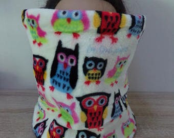 snood child owls pattern