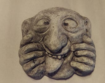 Grotesque Wall Hanging reproducdtion from Oxford University Buildings - Lightweight Cement