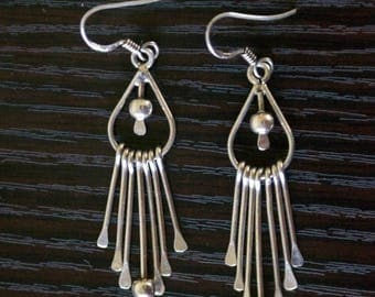 ON SALE Stylish SILVER Earrings