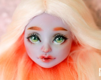 Monster High OOAK Twyla  repaint custom doll HEAD!!