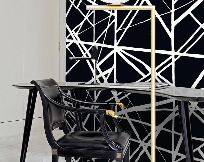 Black stripes wallpapers - Modern Wallpaper