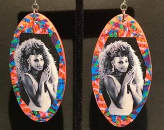 SALE! Whitney Houston Earrings