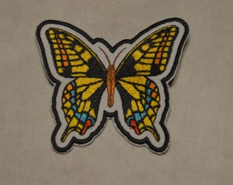 embroidered Butterfly patch