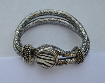 chunk bracelet silver