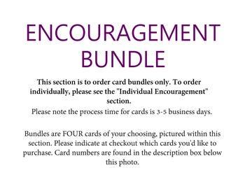 Encouragement Cards Bundle
