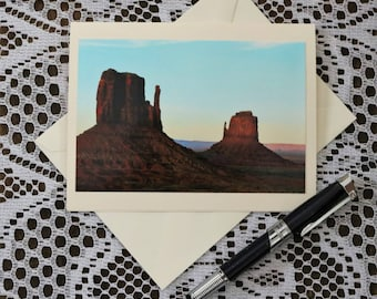 Monument Valley Greeting Card, Monument Valley Note Card, Monument Valley Blank Card, Monument Valley Personalized Card