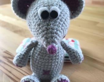 Mouse MIA decorative crochet