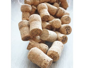 SET champagne corks and crémant various Cork only