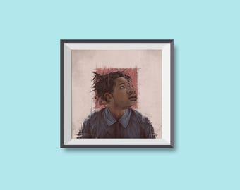 Sampha - art / illustration (print / poster)