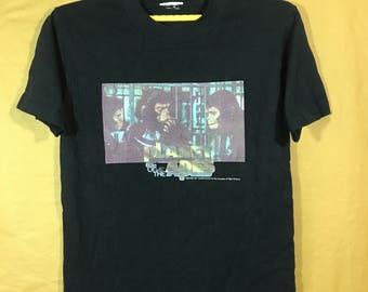 1997 Vintage Planet Of The Apes Twentieth Century Fox Film T-shirt Adult Small Size Chest 18""