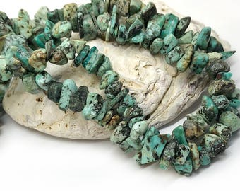 Natural Turquoise  Nugget Chip beads  5 - 10 mm approx / Turquoise gemstone nugget beads / Turquoise Beads for Jewellery Making