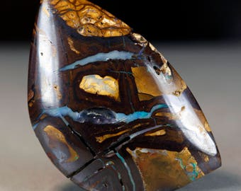 Rugged Patterns -  Koroit Boulder Opal - 28.7ct - Natural Australian Gemstone