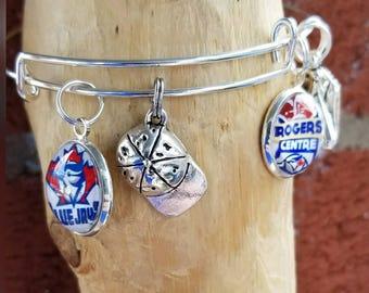Blue Jays Wire bracelet