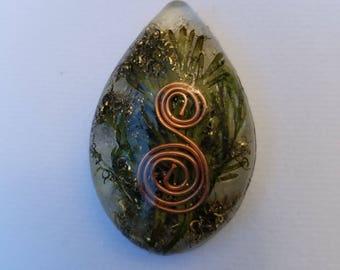 Energy swirl pendant