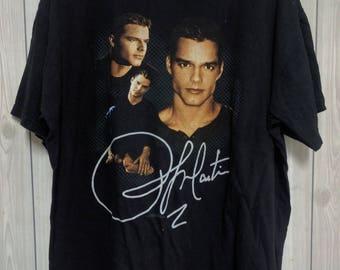 Vintage Ricky Martin 90's Livin La Vida Loca Tour T-shirt Size XL