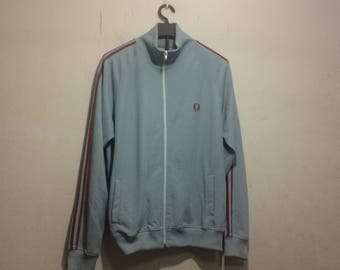 vintage 90s fred perry track jacket men size L