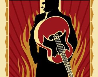 Summer Sale Walk the Line Movie POSTER (2005) Drama/Romance Johnny Cash