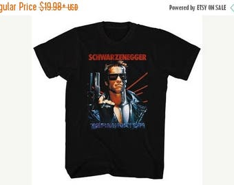 Summer Sale The Terminator Schwarzenegger SHIRT