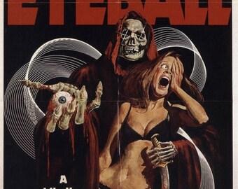 Summer Sale EYEBALL Movie POSTER Horror Rare VHS Big Box