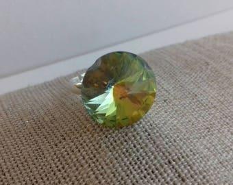 Crystal rivoli sworovsky ring