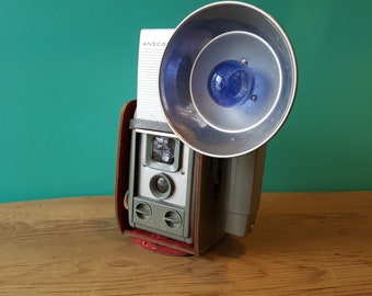1950's Anscoflex TLR Style Box Camera