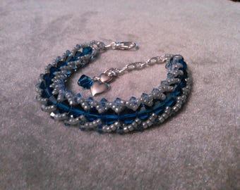 Sapphire Delight & Twilight Time bracelets