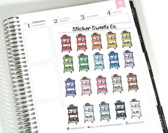 Planner Cart Stickers