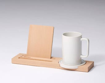 iPhone ipad stand / desk top stationery - kagome
