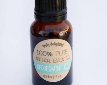 Peppermint Essential Oil - 15ml bottle