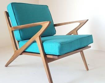 Wonderful Mid Century Selig Style Z Chair