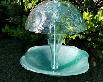Aqua-marine Bird Feeder