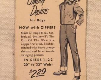Vintage Advertising Magnet