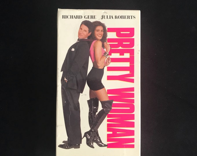 PRETTY WOMAN 1990's Vintage Movie VHS