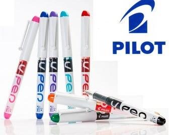 7 x Pilot V Pen Fountain Pen Disposable Medium Line Liquid Ink Svpn-4W