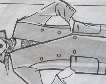 Pattern out of a blazer size 40 to 48
