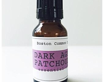 Pure Dark aged Patchouli essential oil / 15 ml Dark aged patchouli essential oil