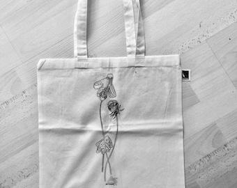 """Art - fabric bag """"BLOOMS"""""""