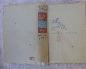 "Crazy Horse First 1st Edition Mari Sandoz Knopf ""The Strange Man of Oglalas"" with MAP"