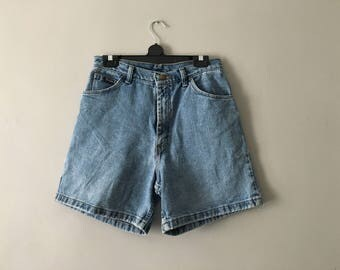 Vintage 1990s Wrangler Shorts | High Waisted Denim Shorts